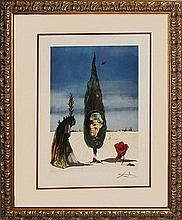 Salvador Dali Apparition of the Rose Limited Edition