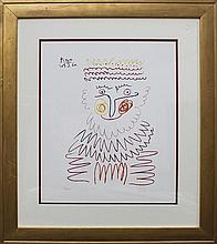 Pablo Picasso-Limited Edition Lithograph-The King