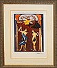 Salvador Dali-Women as Fantasy Adam and Eve Lithograph