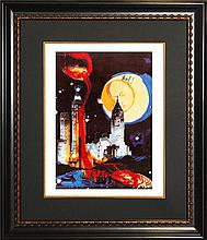 Salvador Dali Limited Edition-Manhattan Skyline