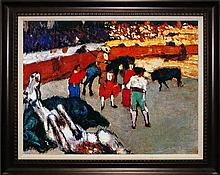 Bullfighting and The Crowd Pablo Picasso Limited