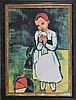 Pablo Picasso-Limited Edition Lithograph-Child Holding Dove