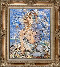 Arina Original Oil Young Woman