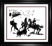 Pablo Picasso  Bullfight Limited edition