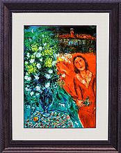 Marc Chagall-Limited Edition Artists Reminiscience