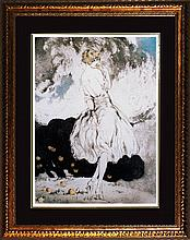 Louis Icart-Limited Edition Forbidden Fruit
