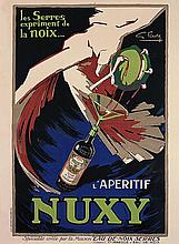 Vintage French Poster Nuxy
