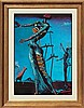 Salvador Dali-Limited Lithograph-The Burning Giraffe