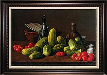 Luis Melendez-Limited Edition Giclee Stillife with