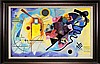 Kandinsky Limited Edition Giclee Yellow Red and Blue