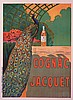 French Poster-Giclee-Cognac Jacket