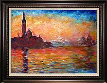 Claude Monet-Limited Edition-Venice at Dusk