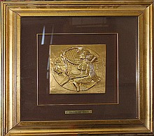 Salvador Dali-Gold Relief Music