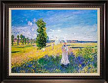 Claude Monet Limited Edition The Walk
