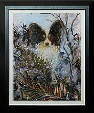 Mon Petit Chien by MeBride Limited Edition Giclee