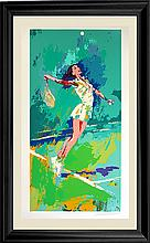 LeRoy Neiman Sweet Serve Limited Edition Serigraph