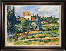 Cezanne Limited Edition The Mill on Couleuvre