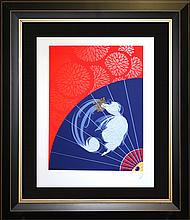 Erte Limited Edition Serigraph Legerte