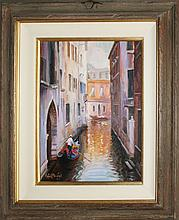 Rafael Original Oil Venice View