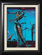 Salvador Dali-The Burning Giraffe LImited Edition