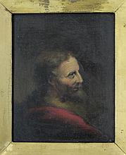 Portrait of Joseph from 1700s original oil on board