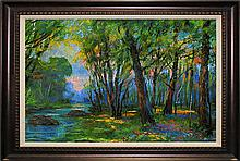 Michael Schofield Original Oil The Woods
