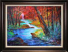 Michael Schofield Original Oil on Canvas