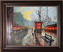 Michael Schofield-Original Mixed Media Paris