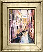 Rafael-Original Oil Hand Signed -Venice View