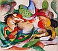Franz Marc-Ltd Ed Giclee Lithograph-Spring Ends