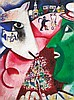 Marc Chagall Lithograph-Me and the Village