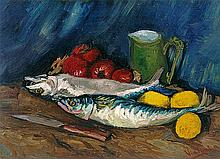Van Gogh-Limited Edition Giclee-Still Life with