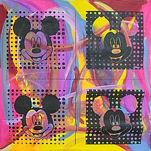 Original Oil Mickey Mouse