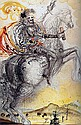 Salvador Dali-Limited Edition Lithograph -El Cid