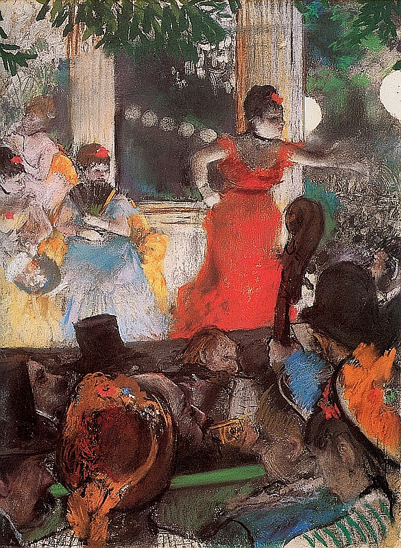 Degas Limited Edition Giclee Cafe Concert