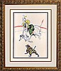Toulouse Lautrec Original Lithograph from 1899 Circus Series of 5