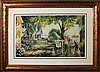 Shady Lane Lithograph by Pachell Olsen
