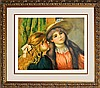 Renoir Colored Lithograph Hand signed