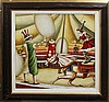 Barrios Circus Riders Original Oil Painting