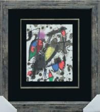 Lithograph Hand signed by Miro