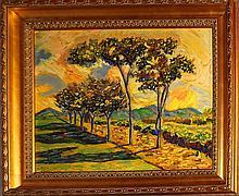 Vintage Original Oil