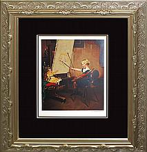 Rockwell-Limited Hand Signed Lithograph
