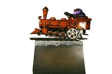 Train Engine Statues