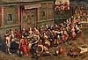 FLÄMISCHER MEISTER 2.H.16.Jh. Hochzeit zu Kanaan.