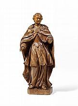 SÜDDEUTSCH 17./18. Jh. Heilige Barbara.