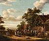VERBURGH, RUTGER Rotterdam 1678 - 1746 Dorfkirmes.
