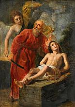 FLÄMISCHER MEISTER um 1700 Abrahams Opfer (Genesis