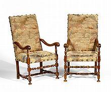 Paar Armlehnsessel Louis XIV