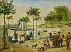 CARNICERO, ANTONIO - 1748 Salamanca - 1814 Madrid - circle - Courtly Scene of Aranjuez, Antonio Carnicero, Click for value