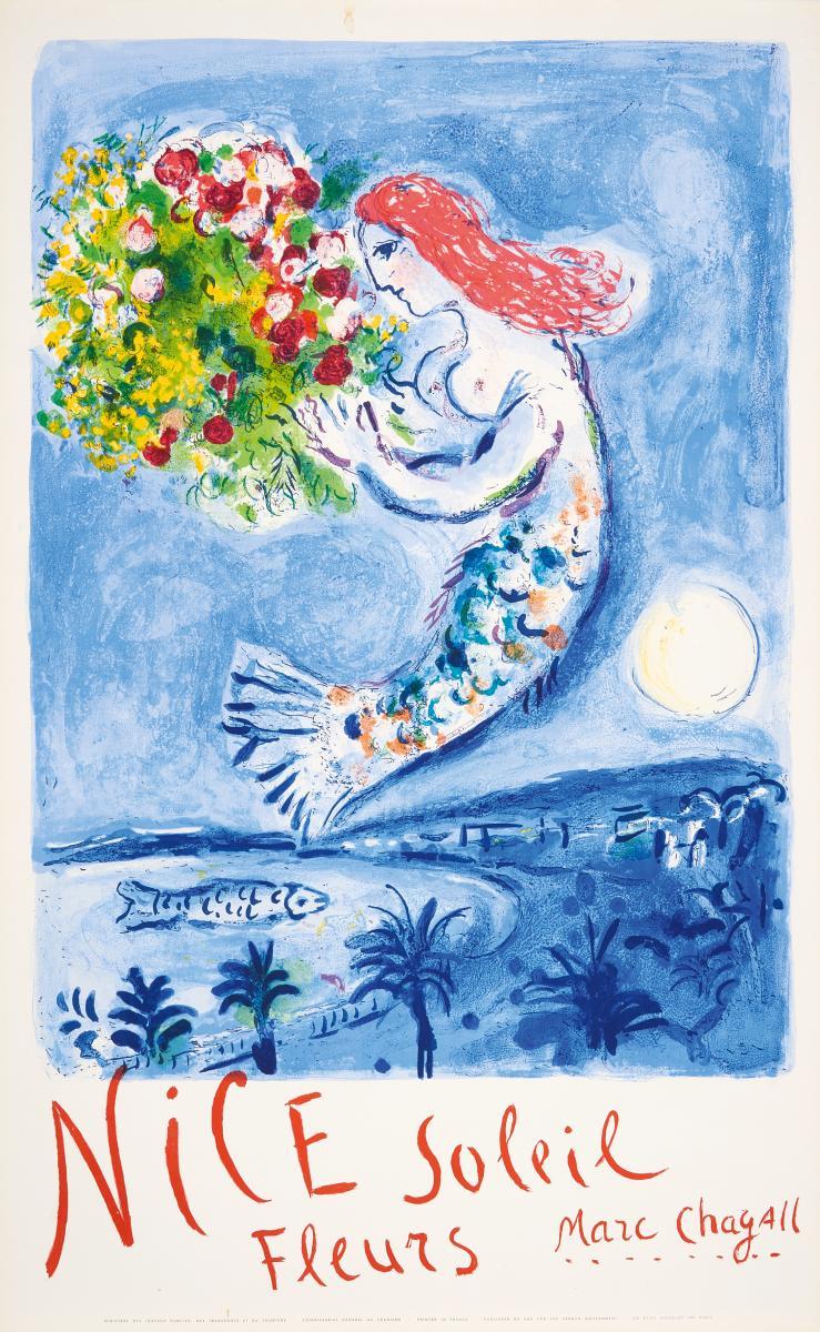 Chagall marc 1887 witebsk 1985 st paul de vence nach n for Chagall st paul de vence